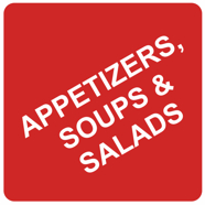 Appetizers, Soups & Salads at Eddie's Italian Restaurant