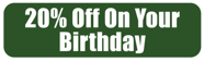 Get 20% OFF on Your Birthday at Eddie's Italian Restaurant!